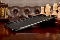 Фирменная ультра-тонкая полимерная из мягкого качественного силикона задняя панель-чехол-накладка для Huawei MediaPad M2 8.0 LTE (M2-801W M2-803L) черная