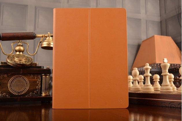 Фирменный оригинальный чехол с логотипом для Huawei MediaPad M2 10.0 M2-A01W/L 10.1 коричневый