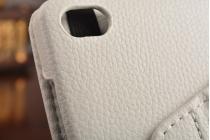 Чехол для планшета Huawei MediaPad M2 8.0 LTE (M2-801W M2-803L) поворотный роторный оборотный белый кожаный