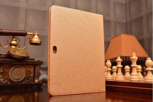 "Фирменный чехол-футляр-книжка для Huawei MediaPad M2 10.0 M2-A01W/L 10.1"" золотой пластиковый"