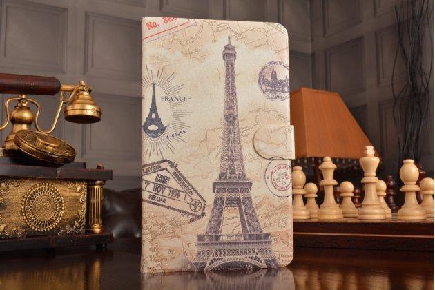 """Фирменный уникальный необычный чехол-книжка для Huawei MediaPad M2 8.0 LTE (M2-801W M2-803L) тематика  """"Париж"""""""