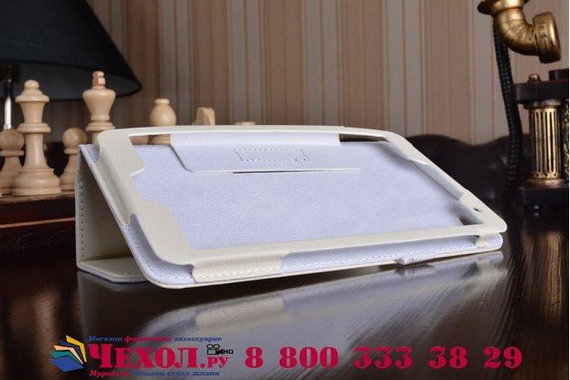 Чехол-обложка для Huawei MediaPad M2 7.0 белый кожаный