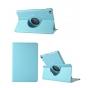 Чехол для планшета Huawei MediaPad M2 8.0 LTE (M2-801W M2-803L) поворотный роторный оборотный голубой кожаный..