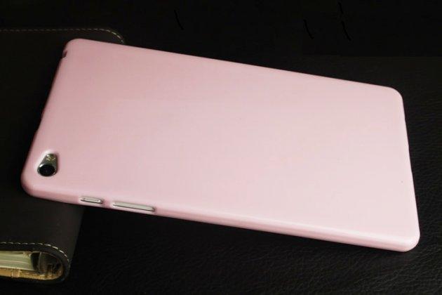 Фирменная ультра-тонкая полимерная из мягкого качественного силикона задняя панель-чехол-накладка для Huawei MediaPad M2 8.0 LTE (M2-801W M2-803L) розовая