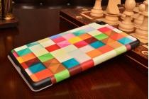 "Фирменный необычный чехол для  Huawei MediaPad M2 8.0 LTE (M2-801W M2-803L) "" ""тематика яркая Мозаика"""
