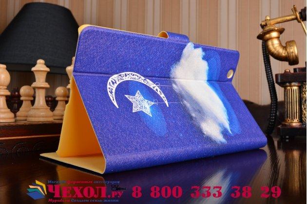 Фирменный эксклюзивный необычный чехол-футляр для Huawei MediaPad M3 8.4 LTE (BTV-W09/DL09)  тематика Звёздное небо
