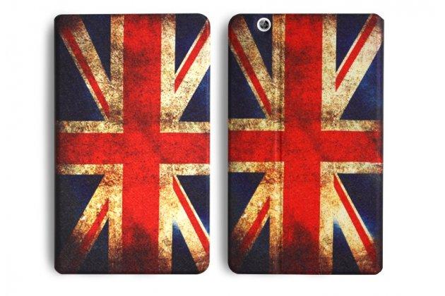 Фирменный эксклюзивный необычный чехол-футляр для Huawei MediaPad M3 8.4 тематика британский флаг