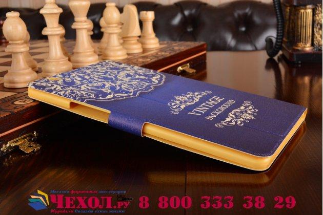 Фирменный эксклюзивный необычный чехол-футляр для Huawei MediaPad M3 8.4 LTE (BTV-W09/DL09)  тематика Книга в винтажном стиле