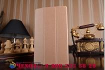 Фирменный умный чехол самый тонкий в мире для Huawei MediaPad M3 8.4 LTE (BTV-W09/DL09) iL Sottile золотой пластиковый Италия