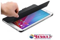Фирменный оригинальный подлинный чехол с логотипом для Huawei Mediapad T1 10 LTE 9.6 / Honor Note T1-A21W Smart Wake черный