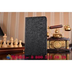 Фирменный чехол-футляр-книжка для Huawei MediaPad T1 T1-701u 7.0 черный
