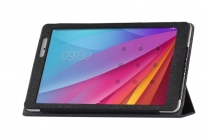 Фирменный чехол-футляр-книжка для Huawei MediaPad T2 10.0 Pro/ T2 10.0 Pro LTE (FDR-A01w\A03L) черный кожаный