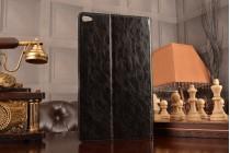 Фирменный дорогой качественный элитный премиальный чехол для планшета Huawei MediaPad T2 10.0 Pro/ T2 10.0 Pro LTE  из качественной импортной кожи черный