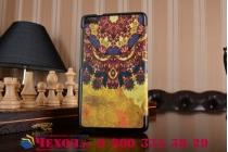 """Фирменный эксклюзивный необычный чехол-футляр для Huawei MediaPad T2 7.0 Pro/ T2 7.0 Pro LTE (PLE-701L) """"тематика Эклектические узоры"""""""