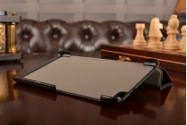 Фирменный умный чехол самый тонкий в мире для Huawei MediaPad T2 7.0 Pro iL Sottile черный пластиковый Италия