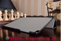 """Фирменный умный чехол самый тонкий в мире для планшета Huawei MediaPad T2 10.0 Pro/ T2 10.0 Pro LTE (FDR-A01w\A03L) """"Il Sottile"""" черный кожаный"""