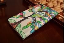 Фирменный эксклюзивный необычный чехол-футляр для Huawei MediaPad T2 7.0 Pro (PLE-701L)  тематика Весенние краски