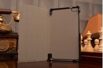 Фирменный умный чехол самый тонкий в мире для Huawei MediaPad T2 7.0 Pro/ T2 7.0 Pro LTE iL Sottile оранжевый пластиковый Италия