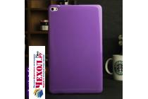 Фирменная ультра-тонкая полимерная из мягкого качественного силикона задняя панель-чехол-накладка для Huawei MediaPad M2 10.0 M2-A01W/L 10.1 фиолетовая