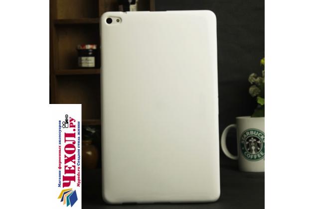 Фирменная ультра-тонкая полимерная из мягкого качественного силикона задняя панель-чехол-накладка для Huawei MediaPad M2 10.0 M2-A01W/L 10.1 белая