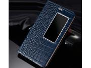 Фирменный роскошный эксклюзивный чехол с фактурной прошивкой рельефа кожи крокодила для Huawei Mediapad X2 / H..