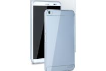 """Фирменная металлическая задняя панель-крышка-накладка из тончайшего облегченного авиационного алюминия для Huawei Mediapad X2 7.0"""" серебристая"""