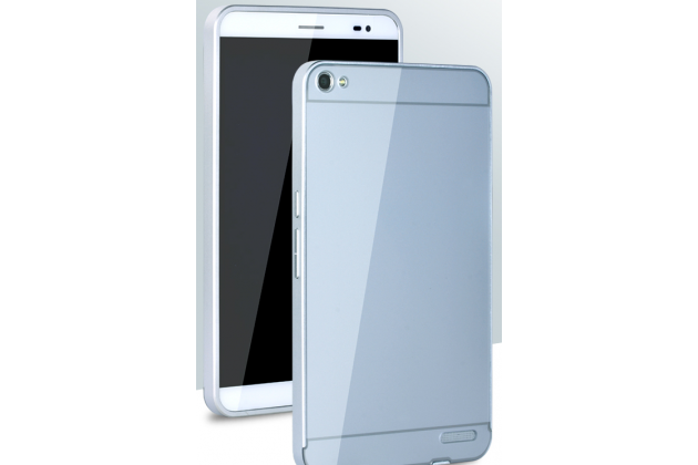 """Фирменная металлическая задняя панель-крышка-накладка из тончайшего облегченного авиационного алюминия для Huawei Mediapad X2 7.0"""" / Huawei Mediapad X1 7.0 серебристая"""