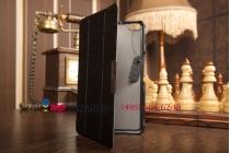 """Фирменный умный чехол самый тонкий в мире для Huawei Mediapad X1/ X2 """"Il Sottile"""" черный пластиковый Италия"""