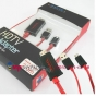 Micro HDMI кабель MHL Huawei Mediapad X1 для телевизора..