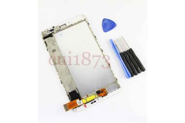 Фирменный LCD-ЖК-сенсорный дисплей-экран-стекло с тачскрином на планшет Huawei MediaPad X1 (7D-501U/ 7D-503L) белый и инструменты для вскрытия + гарантия