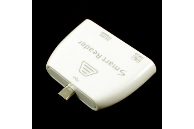 USB-переходник + карт-ридер для Huawei Mediapad X1