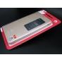 Фирменный чехол-книжка с окном для входящих вызовов для Huawei Mediapad X1/ X2 7.0  (7D-501L) золотая..
