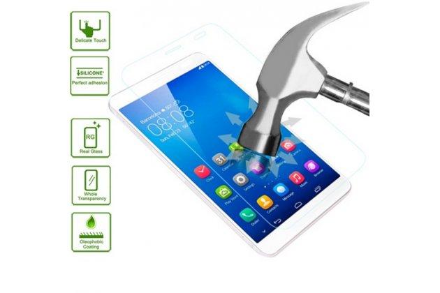 Фирменное защитное закалённое противоударное стекло премиум-класса из качественного японского материала с олеофобным покрытием для Huawei Mediapad X1 7.0
