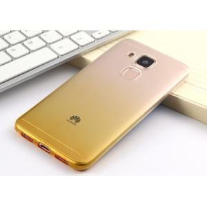 Фирменная ультра-тонкая полимерная задняя панель-чехол-накладка из силикона для Huawei Nova Plus прозрачная с эффектом песка