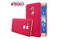Фирменная задняя панель-крышка-накладка из тончайшего и прочного пластика для Huawei Nova Plus красная