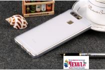 Фирменная ультра-тонкая полимерная из мягкого качественного силикона задняя панель-чехол-накладка для Huawei P10 белая