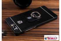 Фирменная металлическая задняя панель-крышка-накладка из тончайшего облегченного авиационного алюминия для Huawei P10 черная