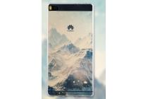 Фирменная роскошная задняя панель-чехол-накладка из мягкого силикона с объемным  3D изображением  на Huawei P8 Lite  c с безумно красивым рисунком тематика Горы