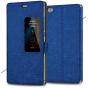 Фирменный оригинальный водоотталкивающий чехол-книжка  подставкой и окном для входящих вызовов  для Huawei P8 ..
