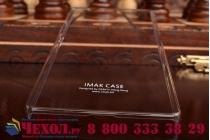 """Фирменная задняя панель-крышка-накладка из тончайшего и прочного пластика для Huawei P8 5.2""""  прозрачная"""