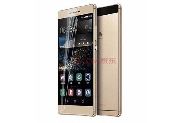 "Фирменная оригинальная защитная пленка для телефона Huawei P8 5.2""  глянцевая"