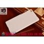 Фирменная задняя панель-крышка-накладка из тончайшего и прочного пластика для Huawei P8 белая..
