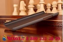 Фирменная задняя панель-крышка-накладка из тончайшего и прочного пластика для Huawei P8 черная