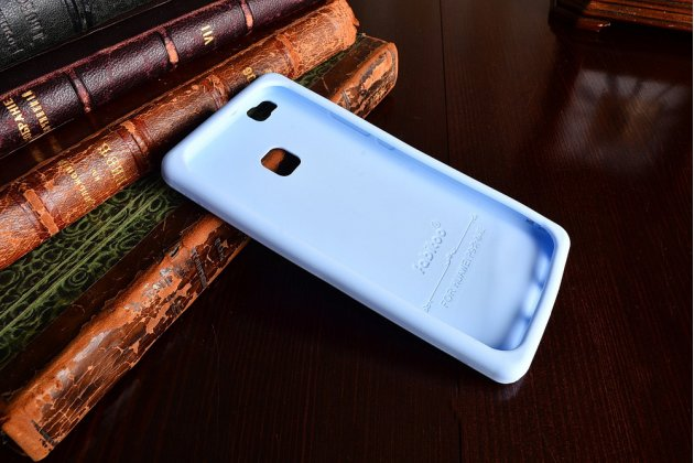 """Фирменная необычная уникальная полимерная мягкая задняя панель-чехол-накладка для Huawei P9 Lite / G9 / Dual Sim LTE (VNS-L21 / VNS-TL00/DL00) 5.2"""" """"тематика Андроид в черничном шоколаде"""""""