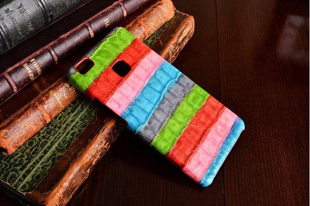 """Фирменная неповторимая экзотическая панель-крышка обтянутая кожей крокодила с фактурным тиснением для  Huawei P9 Lite / G9 / Dual Sim LTE  5.2""""   тематика """"Тропический Коктейль"""". Только в нашем магазине. Количество ограничено."""