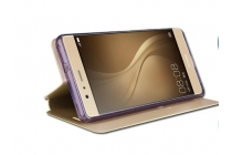 """Фирменный чехол-книжка водоотталкивающий с мульти-подставкой на жёсткой металлической основе для Huawei P9 Lite / G9 / Dual Sim LTE (VNS-L21 / VNS-TL00/DL00) 5.2""""  золотой"""