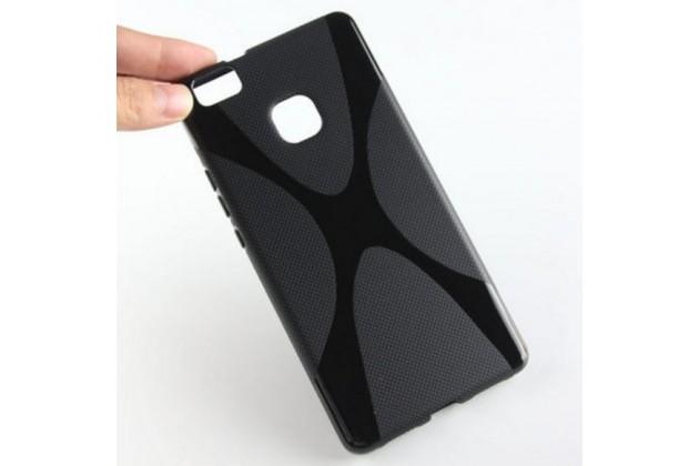"Фирменная ультра-тонкая силиконовая задняя панель-чехол-накладка для Huawei P9 Lite / G9 / Dual Sim LTE (VNS-L21 / VNS-TL00/DL00) 5.2"" черная"