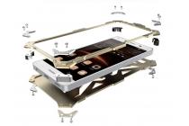 """Противоударный металлический чехол-бампер из цельного куска металла с усиленной защитой углов и необычным экстремальным дизайном  длям  Huawei P9 Lite / G9 / Dual Sim LTE (VNS-L21 / VNS-TL00/DL00) 5.2"""" черного цвета"""