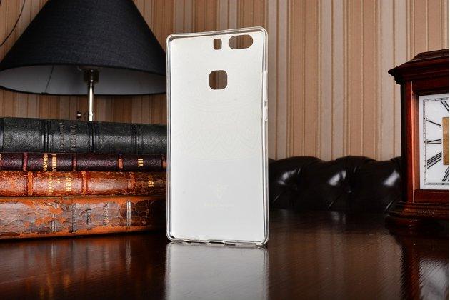 """Фирменная ультра-тонкая силиконовая задняя панель-крышка-накладка  для Huawei P9 + Plus (VIE-AL10 ) 5.5""""  с 3D объёмным рисунком """"тематика Эклектические Узоры"""""""