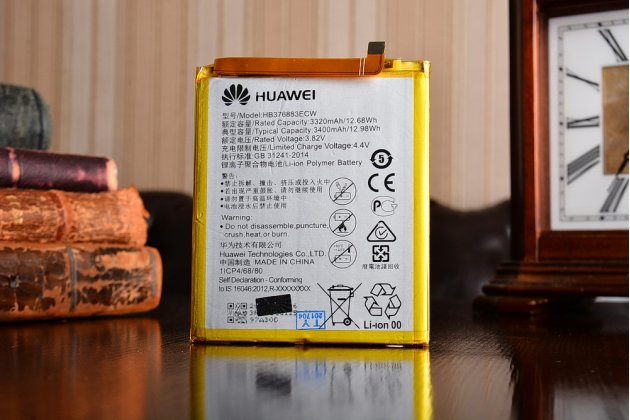 "Фирменная аккумуляторная батарея HB376883ECW 3320mah телефон Huawei P9 + Plus (VIE-AL10 ) 5.5""  + инструменты для вскрытия + гарантия"